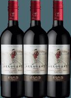 3er Vorteils-Weinpaket - Ribet Red Cabernet Sauvignon Merlot 2019 - Arrogant Frog