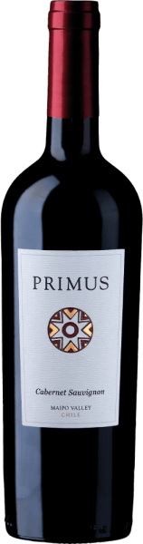 Primus Cabernet Sauvignon from Veramonteis a pure red wine from Chile, vinified from the Cabernet Sauvignon grape variety (100%). In the glass, this red wine appears in a beautiful ruby red with purple reflections. The bouquet reveals vibrant aromas of berry fruit - starting with currant, blueberry and blackberry. This is accompanied by notes of dried black cherries and a fine hint of vanilla.The palate shows a smooth and silky texture. The finish is wonderfully long and is accompanied by fine tannins. Vinification of PrimusCabernet Sauvignon The grapes for this red wine come from the region ofMaipo Valley and Central Valley and are carefully picked by hand. After mash fermentation, this Chilean red wine is aged for 12 months in French oak barrels. Food recommendation for the Veramonte Primus Cabernet Sauvignon Enjoy the dry red wine from Chile with roast beef with sausage, lamb mint in olive coat with beans or with hard cheeses, such as pecorino. Awards for the Primus Veramonte Cabernet Sauvignon James Suckling: 92 points for 2014