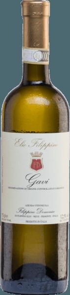 DerGavi von Elio Filippino ist ein rebsortenreiner Weißwein der mit einer strahlend strohgelben Farbe mit grünen Highlights im Glas erstrahlt. Das Bouquet offenbart wundervolle Aromen nach frischen Limetten und reifen Mirabellen. Am Gaumen ist dieser italienische Weißwein herrlich fruchtig mit einer knackig eleganten Textur - auch die Noten der Nase spiegeln sich am Gaumen wider. Ein Weißwein mit einem frischen und fruchtigen Finale. Speiseempfehlung für den Elio Filippino Gavi Dieser trockene Weißwein aus Italien passt hervorragend zu leichten Vorspeisen, Fischgerichten - insbesondere Thunfisch mit Petersilienkartoffeln.