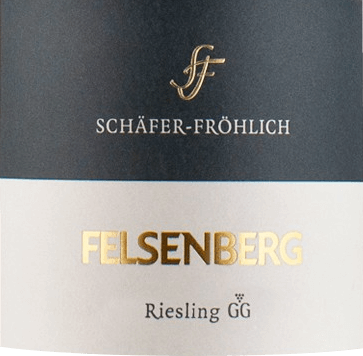 The light-footed Bockenauer Felseneck Riesling Großes Gewächs from Schäfer-Fröhlich flows into the glass with a brilliant light yellow. When swirling the glass, this white wine is characterized by a fascinating brilliance that makes it dance nimbly in the glass. The first nose of the Bockenauer Felseneck Riesling Großes Gewächs bears witness to grapefruits, lemongrass and gooseberries. The fruity hints of the bouquet are joined by more fruity-balsamic nuances On the palate, the Bockenauer Felseneck Riesling Großes Gewächs from Schäfer-Fröhlich starts wonderfully dry, grippy and aromatic. Despite its dry appearance on the palate, this white wine delights with the finest melt and finely woven residual sweetness. Due to its lively fruit acidity, the Bockenauer Felseneck Riesling Großes Gewächs presents itself impressively fresh and lively on the palate. On the finish, this wine from the Nahe wine-growing region impresses with its considerable length. Again, there are hints of pomelo and lemon. In the finish, mineral notes of the slate and sandstone dominated soils are added. Vinification of the Bockenauer Felseneck Riesling Großes Gewächs from Schäfer-Fröhlich The elegant Bockenauer Felseneck Riesling Großes Gewächs from the Nahe is made from grapes of the Riesling variety. In the Nahe, the vines that produce the grapes for this wine grow on soils of slate, silicate rock and sandstone. After the hand harvest, the grapes are immediately taken to the press house. Here they are sorted and carefully broken up. Fermentation follows at controlled temperatures. Food recommendation for the Schäfer-Fröhlich Bockenauer Felseneck Riesling Großes Gewächs Drink this white wine from Germany ideally well chilled at 8 - 10°C as an accompaniment to leek soup, vegetable stew with pesto or cabbage roulades.