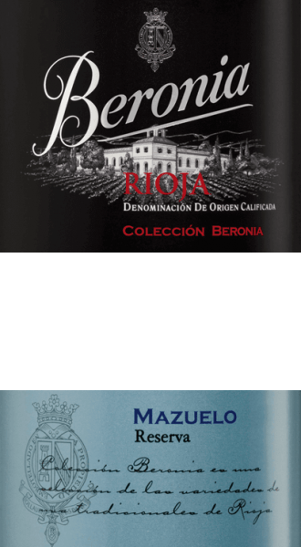 """The Mazuelo Reserva Rioja from Beronia is an outstanding, varietal red wine from the Spanish Rioja region. In the glass, this wine shines in a shiny ruby red with dark shades. The intense bouquet reveals wonderful aromas of pickled fruits, dried apricots, sweetly ripened berries and subtle hints of Mediterranean spices. On the palate, this Spanish red wine presents a powerful and lively character, which is enveloped by expressive notes of juicy cherries, fine spices and a touch of cocoa.The texture is wonderfully structured, full-bodied and harmoniously balanced. The ageing in oak barrels rounds off the long finish perfectly with the fresh acidity. Vinification of the Beronia Reserva Mazuelo After harvesting the Mazuelo grapes, they are immediately brought to the Beronia wine cellar and mashed. The grapes are fermented slowly on the mash. As a result, the colour pigments and the typical grape variety aromas are extracted from the peels. To increase this extraction, we pump the mash regularly - the pumping also causes the mash to come into more contact with oxygen and the tannins to be soothed. Once alcoholic fermentation and biodegradation have been completed, this red wine is aged in French and American oak barriques for a total of 26 months. Beronia has specially made """"mixed"""" barrels made of both types of oak for this purpose. After the wood has been aged, the wine is removed and filled onto the bottle. Here, this wine rests in the wine cellar for another 12 months. Food recommendation for the Rioja Mazuelo Reserva of Beronia Enjoy this dry red wine from Spain with beef fillet on potato stew with roasted onions, wild boar roast in dark sauce or with matured cheeses."""