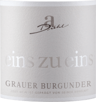 Preview: Grauer Burgunder eins zu eins Kabinett trocken 2020 - A. Diehl