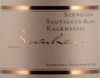 Preview: Schweigener Sauvignon Blanc Kalkmergel 2020 - Bernhart