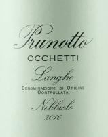 Preview: Occhetti Nebbiolo Langhe DOC 2018 - Prunotto