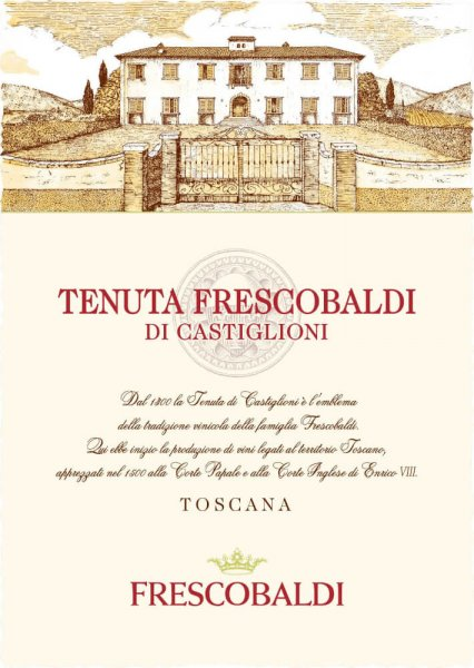 Tenuta Frescobaldi di Castiglioni Toscana IGT 2018 - Tenuta Castiglioni von Tenuta Castiglioni - Frescobaldi