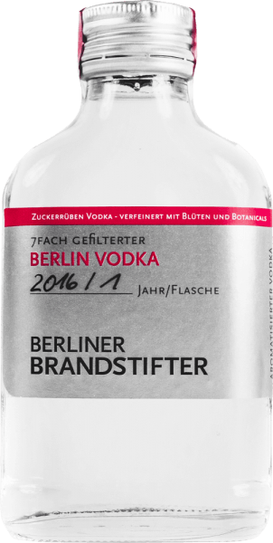 Berlin Vodka 0,1l - Berliner Brandstifter