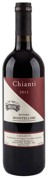 The Chianti DOCG by Fattoria Montellori is presented in a violet colour.The strong, persistent bouquet convinces with the grape variety typical fruit aroma after blackberry cherries. The balanced mouthfeel also lives off the fruity aromas of the bouquet as well as the velvety-soft tannins and the beautiful acidity.We recommend it for Tuscan cuisine (e.g. Tuscan salami), vegetable soup, pasta, light stews such as rabbits and fresh and medium-ripe cheeses.