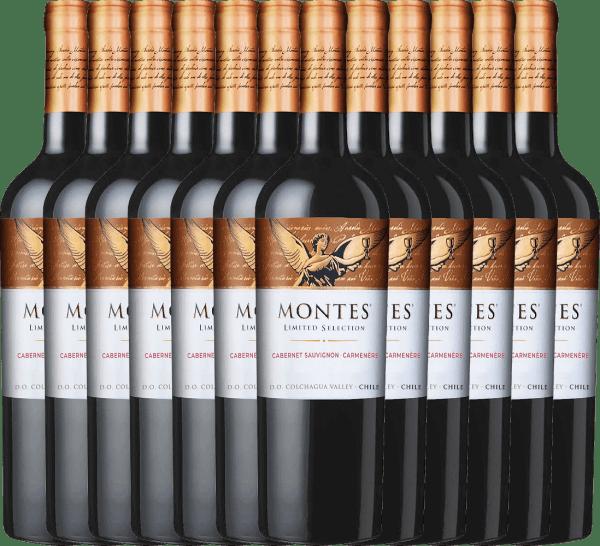 12er Vorteils-Weinpaket - Limited Selection Cabernet Sauvignon Carmenère 2019 - Montes