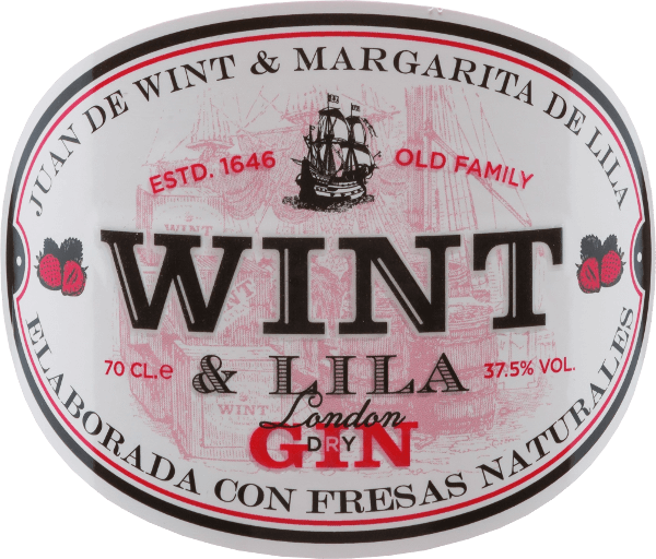 The Strawberry Gin by Wint & Lila from the Spanish Seville in Andalusia gives you an idea of what aroma is clearly in the foreground: the strawberry.  This delicious and balanced gin is distilled from fresh strawberries and other botanicals. The nose enjoys aromas of orange blossoms, strawberries, peppermint and juniper elderberries. On the palate, this gin is wonderfully fresh with Mediterranean flair.   Wint & Lila Strawberry Manufacturing Process With this gin, the basic spirits are cereals. In addition, there are the following botanicals: strawberries, angelica roots, orange peels, orange blossoms, lemons, peppermint, juniper.  According to the   'au bain marie' method, the botanicals are fused together in centuries-old copper bubbles. This gin passes through the distillation several times.  This gin is distilled without preservatives and artificial sweeteners.   Serving suggestion for the Gin Wint & Lila Strawberry This wonderful gin from Spain is a perfect and welcome aperitif. You don't have to pay attention to a certain serving temperature - enjoy  the Wint & Lila Strawberry Gin just the way you like.