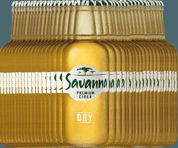 36er Vorteilspaket - Savanna Premium Dry Cider - Savanna