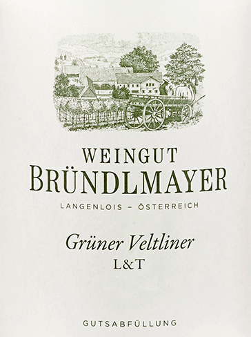Grüner Veltliner L&T 2019 - Bründlmayer von Weingut Bründlmayer