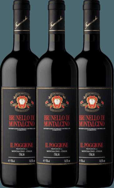 3er Vorteils-Weinpaket - Brunello di Montalcino DOCG 2014 - Tenuta il Poggione