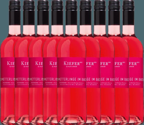 9er Vorteils-Weinpaket - Schmetterlinge im Bauch Rosé 2019 - Weingut Kiefer