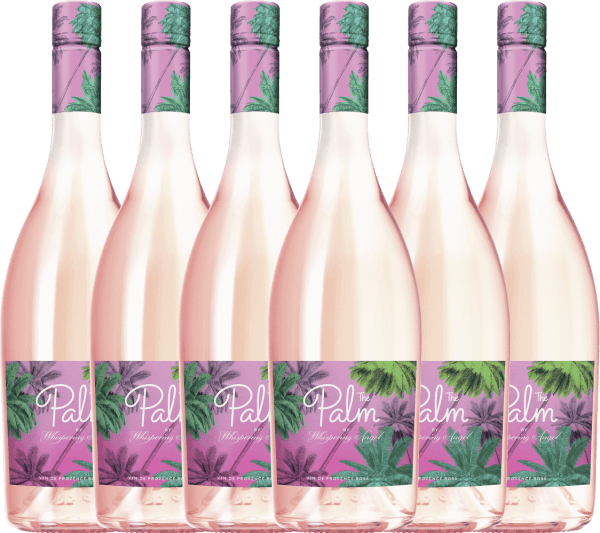 6er Vorteils-Weinpaket - The Palm Rosé by Whispering Angel 2019 - Château d'Esclans