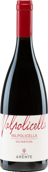 Costa Arènte's Valpantena Valpolicella is a balanced Italian red wine vinified from Corvina (50%), Corvinone (30%), Rondinella (10%) and other red grape varieties(10%). In the glass, this wine shines in a bright ruby red. The aromatic bouquet is characterized by notes of juicy raspberries, red currants and ripe sour cherries. The aromas of the nose are accompanied by black pepper. The palate enjoys a juicy and balanced texture with a soft tanning structure. The lively acidity is very well integrated into the body and accompanies in the present, medium-long finale. Vinification ofthe Costa ArènteValpantena Valpolicella The grapes for this Italian red wine come from the Veneto region - D.O.C.Valpolicella Valpantena. The harvesting is done exclusively by hand. After reaching the Costa Arènte winery, the grapes are gently pressed and then fermented at a controlled temperature in large wooden barrels. After completion of the fermentation process, this red wine rests for 3 months in large wooden barrels. Food recommendation for the Valpantena Valpolicella Costa Arènte Enjoy this dry red wine from Italy for cozy barbecues with white grilled meat. But this wine is also a treat for starters with cream cheese.