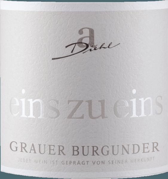 Grauer Burgunder eins zu eins Kabinett trocken 2020 - A. Diehl von Weingut A. Diehl