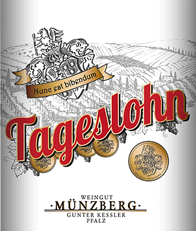 Tageslohn Dornfelder Spätburgunder 2017 - Weingut Münzberg von Weingut Münzberg