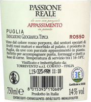 Preview: Passione Reale Appassimento Puglia IGT 2018 - Torrevento