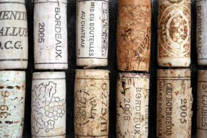 The cork as a symbol of the diversity of Bordeaux wine
