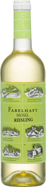The Fabulous Riesling Moselle from Fio Weine is a wonderfully fruity-fresh Riesling vinified by the three winemakersDaniel Knöpfel, Dirk van der Niepoort and Philipp Kettern in the Palatinate. In the glass, this wine shines in a bright yellow with greenish reflections. The aromatic bouquet reveals fresh aromas of ripe apples and juicy peaches. The typical Riesling aroma continues harmoniously on the palate. This German white wine convinces with its wonderful balance between the well-integrated acidity and the fine sweetness. The finale once again offers a fruity variety of aromas and a medium length. Food recommendation for the Fio wines Fabulous Riesling Moselle Enjoy this dry white wine from Germany with crisp salads with turkey breast strips. But also solo on the balcony or terrace, this wine is a real treat.