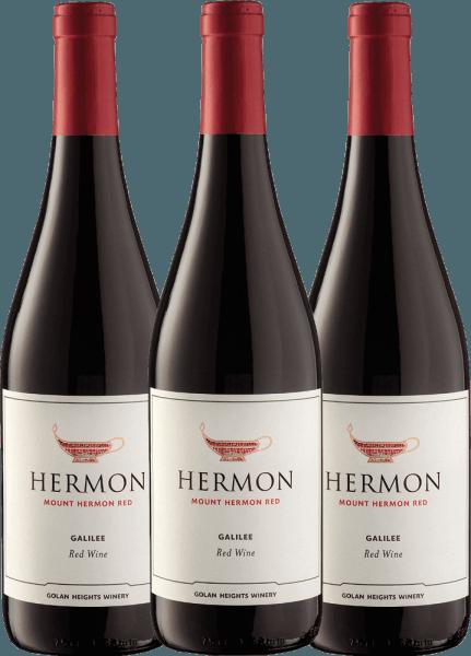 3er Paket - Mount Hermon Red 2020 - Golan Heights Winery