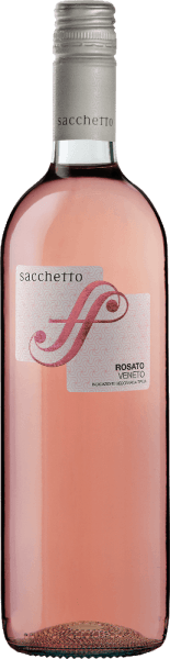 The fresh rosé from northern Italy The Rosato Veneto IGT from Sacchetto shimmers in the glass in a light rosé, which turns into a cherry red. The bouquet of this rosato is pleasantly light and fruity. On the palate, the Sacchetto Rosato convinces with its tingling and harmonious impression and the delicate nuances of cherry. Vinification of Sacchetto Rosato This rosé wine from Veneto is vinified from the Merlot and Pinot Noir grape varieties. After a short standing time on the mash, it is fermented with the addition of selected yeasts. Fermentation and removal take place in stainless steel tanks. Food recommendation for the Sacchetto Rosato Enjoy this dry rosato with antiasti, soups, white meat or vegetable pies.