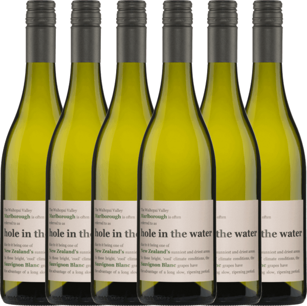 6er Vorteils-Weinpaket - Hole in the Water Sauvignon Blanc 2020 - Konrad Wines