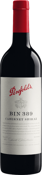 The Bin 389 from Penfolds is an outstanding complex red wine cuvée from the Cabernet Sauvignon (51%) and Shiraz (49%) grape varieties. In the glass, this wine shines in a shiny garnet red with dark shades. The complex bouquet makes it extremely difficult to recognize the individual components. Under the influence of air, an impressive character of barrel storage unfolds, accompanied by fig, date, plum and quince aromas complemented by soy and hoisin sauce notes. A pronounced freshness with dark berries (blackberry and blackcurrant) is clearly noticeable. Notes of charcoal and Italian vegetables (zucchini, eggplant) remain discreetly in the background. On the full-bodied, lively palate, this Australian red wine unfolds a little braid of dark berry fruits along with mineral hints (graphite and pencil lead) and sweet spice nuances. In addition, this cuvée reveals a spicy freshness, complemented by a lively acidity, well-shaped tannins and respectful oak. A wine of beautiful length, texture and great weight. Vinification of the Penfold Cabernet Shiraz Bin 389 Separated by grape variety, the grapes are harvested in the warmer and cooler growing areas in South Australia. Once the harvested material has arrived in the wine cellar of Penfolds, one part of the mash (grape varieties - and origin separated) is fermented directly in the wooden barrel - the other part is fermented classically in a stainless steel tank. After alcoholic fermentation, this wine is aged in small American oak barrels (37% new wood). Finally, this red wine is married to the final blend and matures for just under another year on the bottle in the wine cellar of Penfolds. Food recommendation for the Penfolds Bin 389 We recommend this dry red wine from Australia with braised beef pastries, wild ragout with wild mushrooms, braised oxtail, spiked rabbit back or roast duck from the oven. Awards for Bin 389 Penfolds Cabernet Shiraz Robert M. Parker - The Wine Advocate: 91 points for 2016
