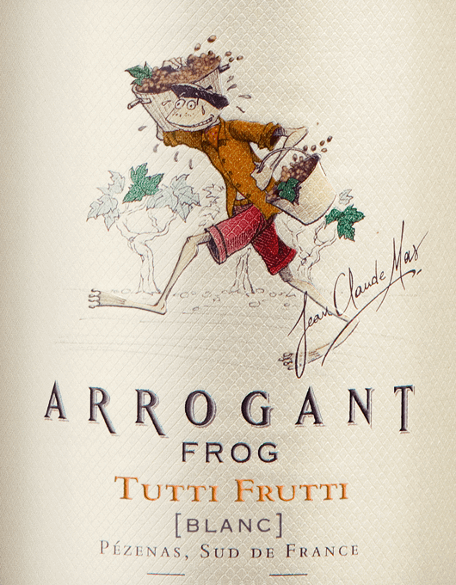 Tutti Frutti Blanc 2019 - Arrogant Frog von Arrogant Frog