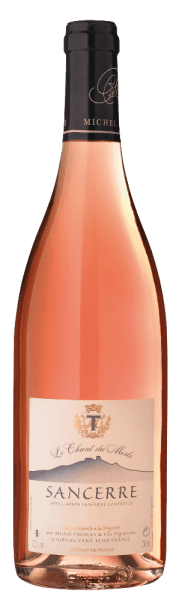 The Sancerre Rosé AOC by Domaine Michel Thomas from Sancerre, France, shows a bright salmon pink in the glass and a fine scent of raspberries andpomegranate. On the palate, this rosé wine is body-rich, fruity, delicately spicy and with pleasant acidity. Juicy reverberation. Vinification of the Sancerre Rosé by Domaine Michel Thomas The vineyards of Domaine Thomas stretch across the three municipalities of Sury-en-Vaux, Verdigny and Saint Satur, while Pinot Noir is grown for the red and rosé wines. The terroir is characterized by three different soil types - limestone, stone and fire soils - which give this Sancerre Rosé its character. Food pairing for the Sancerre Rosé by Domaine Michel Thomas Enjoy this expressive French rosé with summer salads, casseroles or goat's cheese.