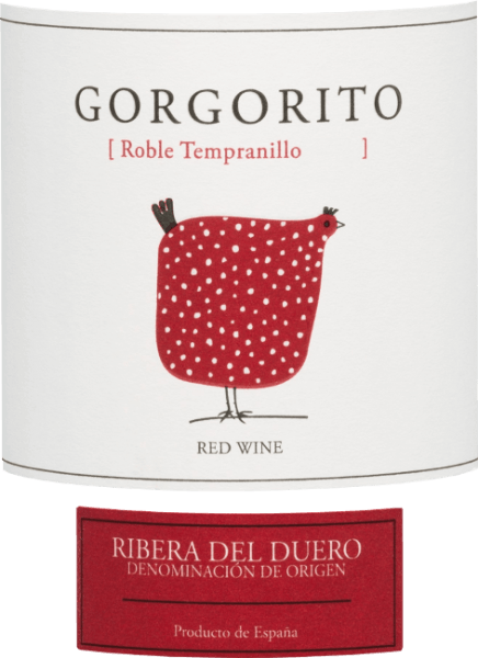 The Gorgorito Tempranillo from Bodegas Copaboca is a pure red wine with a strong ruby red colour in the glass. The nose is pampered by fine aromas of red berries - especially currant and blackberry. Fine notes of vanilla, balsamic vinegar, freshly roasted coffee and filigree wood nuances are added. The palate also displays lush berry aromas. This red wine from Spain is wonderfully balanced, has a good structure and shows unforgettable spicy hints in the middle echo. Vinification ofGorgorito Tempranillo The grapes for this Spanish red wine are harvested by hand at the Copaboca winery. This red wine gains its finely spicy character through its 5-month ageing in French and American oak barrels. Food recommendation for the Copaboca Gorgorito Tempranillo This red wine from the Ribera del Duero region is a great treat for pork tenderloin with roasted vegetables, suckling pig with dumplings and blueberry and a hearty snack. Awards for the Tempranillo Gorgorito Mundus Vini: Gold for 2016