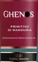 Preview: Ghenos Primitivo di Manduria DOC 2017 - Torrevento