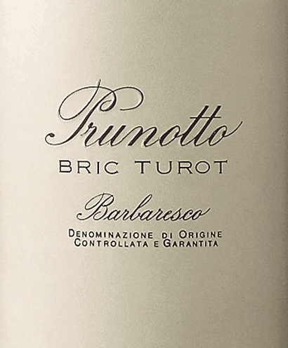 Bric Turot Barbaresco DOCG 2016 - Prunotto von Prunotto
