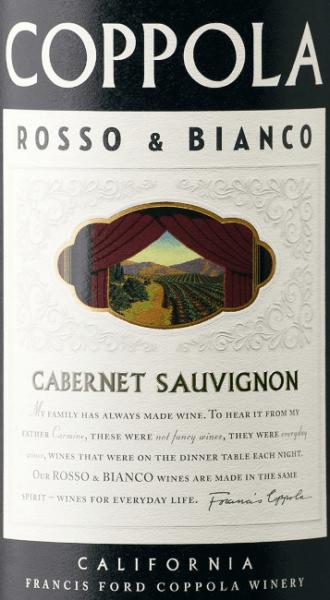 Rosso & Bianco Cabernet Sauvignon 2017 - Francis Ford Coppola Winery von Francis Ford Coppola