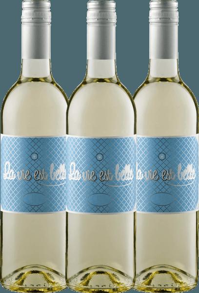 3er Vorteils-Weinpaket - La vie est belle blanc 2019 - La vie est belle
