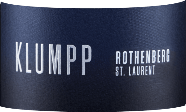 The St. Laurent Rothenberg von Klumpp flatters the nose with the complex aromas of black berries, dark chocolate and fine roasted notes. In the background, hints of cherry juice and a subtle spice can be seen. Rich in finesse and full of power, this red wine presents itself on the palate. Lively and with velvety tannins, this St. Laurent enters a finale marked by cherries and chocolate . Vinification of Rothenberg St. Laurent The grapes for this St. Laurent come from the Bruchsal Rothenberg. 100% grapes from biologically dynamic cultivation were vinified. After fermentation, this red wine was refined by ageing in wooden barrels. Food recommendation for Rothenberg St. Laurent Enjoy this dry red wine with strong meat dishes, roasts, duck and game.