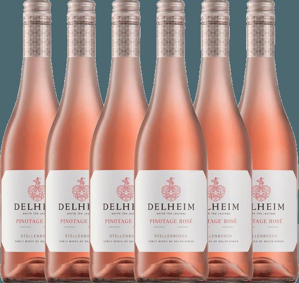 6er Vorteils-Weinpaket - Delheim Pinotage Rosé 2020 - Delheim