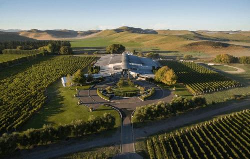 Das neuseeländische Weingut Sileni Estates in Hawkes Bay