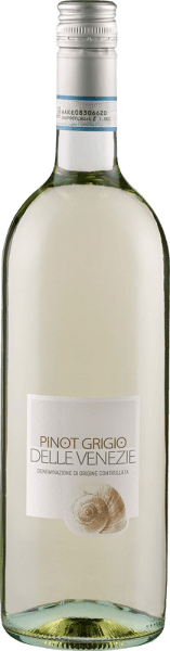 The Pinot Grigio by Cantina Valdadige is presented in a bright golden yellow in the glass with aromas typical of the origin and variety of light fruits and subtle honey notes. This Italian white wine is on the palate with delicate melting and enchanted with its fine minerality and lively acidity. Food recommendation for the Cantina Valdadige Pinot Grigio Enjoy this dry white wine with appetizers, antipasti, pasta, fish, poultry and veal or cheese. Awards for Pinot Grigio Cantina Valdadige Mundus Vini: Silver (vintage 2015)