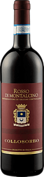 The Rosso di Montalcino DOC from Collosorbo is presented in the glass in a beautiful ruby red and with the wonderful fruit aromas of ripe cherries and wild berries. Add a subtle hint of chocolate. This red wine from Tuscany is a fresh and velvety wine that has a lively acidity. An elegant wine with a remarkable structure and consistency. Vinification for the Rosso di Montalcino DOC by Collosorbo After the hand-picking, the grapes for this Sangiovese were fermented at a controlled temperature and macerated on the peel. This red wine was aged in Slavonic and French oak barrels for about 12 months with further storage in the bottle for at least 6 months. Food recommendation for the Rosso di Montalcino DOC from Collosorbo Enjoy this dry red wine with pasta with tomato sauce, tender dishes of pork and beef or with soft and hard cheese.
