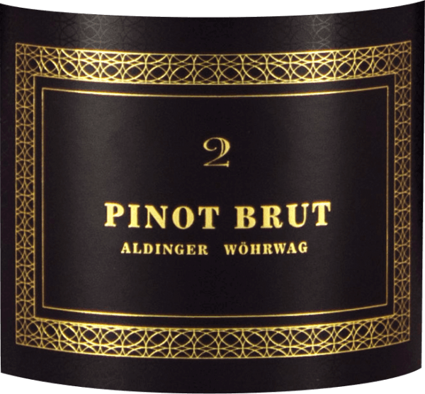 "The Pinot Brut 2 sparkling wine is a joint project of the Aldinger and Wöhrwag wineries, which brought the legendary sparkling wine grape Volker Raumland on board for their grandiose sparkling wine. In the glass comes her Pinot Brut 2 quite as elegant as it already presents itself in the bottle. The color wonderfully straw yellow, the pearl elegant and fine. Delicate pearl strings work from the mousse point in the glass towards the surface and light an extraordinary bouquet, which is carried by the finest yeast notes, ripe as well as pickled pears, dried apricots and white. On the palate, the Pinot Brut 2 by Aldinger and Wöhrwag presents a wonderful full-bodied mouthfeel, without a ""too much"" of carbonic acid spoiling the fun and forcing us to sip small. With Pinot Brut 2 everything is just right, especially the balance. The autolysis aromas are reminiscent of fresh peasant bread crust and brioche and make some champagne sweat for three times the price. Great! Vinification of Pinot Brut 2 sparkling wine from Aldinger & Wöhrwag This sparkling wine made from white Pinot Noir grapes is the joint project of the Aldinger and Wöhrwag wineries in Stuttgart. Both VDP wineries decided that such a venture requires maximum expertise and they logically found it at Volker Raumland, the undisputed champagne champion of Germany. In 2004 it was time. The first Pinot brood saw the light of the wine world. The base wine for Pinot Brut 2 is vinified exclusively in a stainless steel tank. The second fermentation logically takes place in the bottle. Then Aldingers and Wöhrwags Pinot Brut 2 matures for two whole years on the yeast before the bottles are degorged and corked. Food recommendations for Pinot Brut 2 by Aldinger and Wöhrwag Serve this exclusive German wine sparkling wine solo as an aperitif or with salads with smoked fish, with char lobster or mussels with white wine sauce."