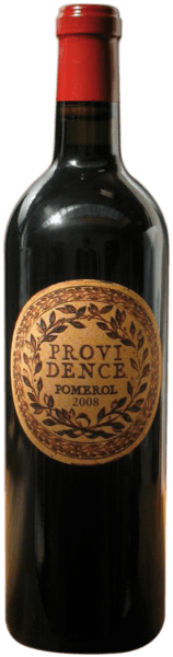 This red of Merlot and Cabernet Sauvignon grapes reveals itself in a dense, ink-dark crimson. Château Providence Pomerol AOC by Château Providence is characterized by its intense and aromatically complex bouquet of blackcurrants, blackberries and black cherries, some pencil lead, dark mousse au chocolat, cocoa, liquorice and fine toast. The palate appears muscular, powerful and juicy. A good body and perfectly integrated tannin give the wine fullness and structure. It is rounded off by a promising, long and elegant finish.Overall, a clear and at the same time straight red wine with a harmonious balance of acidity, alcohol, oak wood and tannin.Serve this red with wild ragouts, game poultry and pies, roast beef with herbs, goose or duck from the oven, fresh pasta with wild mushrooms or with dishes of oriental cuisine.