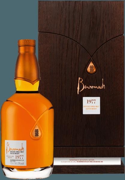 Benromach Heritage Vintage Speyside Single Malt 1977 - Benromach Distillery