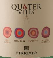 Preview: Quater Rosso Sicilia IGT 2015 - Firriato