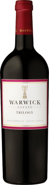 The Warwick Estate Trilogypresents itself wonderfully crimson in the glass and is characterized by a very fine bouquet reminiscent of blackcurrants, raspberries and plums. The high-quality and finer-rich red wine from Stellenbosch, which matured for two years in French oak barriques, impresses with velvety elegance and simply perfect harmony. On the palate, it stays round and pleasant with a strong dance structure and shows dark berry fruits and fine wood notes. Food recommendation for the Warwick Estate Trilogy Enjoy this red wine from South Africawith fried meat, game or cheese. Warwick Estate Trilogy Awards John Platter: 4.5 Stars Tim Atkin: 94 Points