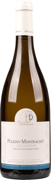 Puligny Montrachet les Levrons Blanc 2018 - Berthelemot