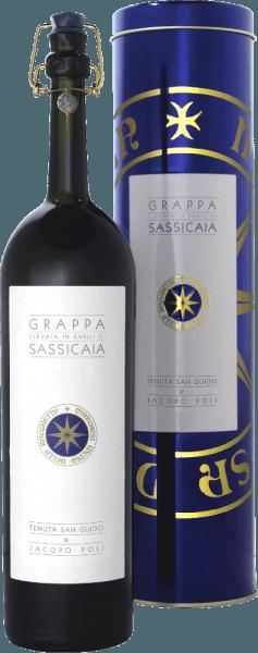 Grappa Elevata in Barili di Sassicaia 0,5 l in GP - Jacopo Poli von Jacopo Poli
