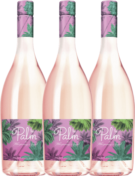 3er Vorteils-Weinpaket - The Palm Rosé by Whispering Angel 2019 - Château d'Esclans