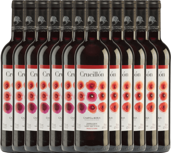 12er Vorteils-Weinpaket - Crucillón DO 2019 - Bodegas Aragonesas