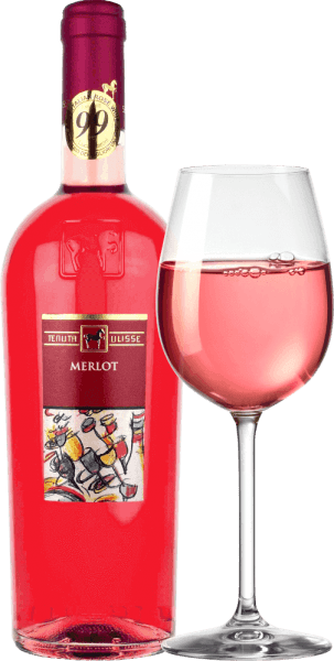 """The Merlot Rosato by Tenuta Ulisse is the rosé bestseller of top wines in Abruzzo. It comes into the glass with strong raspberry red and inspires not only the rosé friend, but every wine lover who likes powerful and expressive wines. First of all, fruity notes of ripe raspberries, cranberries, strawberries and cherries penetrate the nose. The fruit is complemented by floral notes, fine herbal spices and light citric nuances of pink grapefruit, kumquat and bergamot. Floral notes of hibiscus and bush rose complete the bouquet brilliantly. On the palate, the Ulisse Merlot Rosato starts with an animating, fruity prelude. Delightfully grippy, juicy and with vital acidity, this Italian rosé glides over the tongue. A feast for the senses. No wonder, then, that critic legend Luca Maroni made this wine from Ulisse part of his highest rating for the second time. Vinification of the Merlot Rosato by Tenuta Ulisse This lace pink car was vinified from 100% Merlot grapes grown around Crecchio in the Abruzzo province of Chieti. The vines here are rooted in sandy soils and have been able to dig their roots deep into the underground for 10-20 years. The sandy soil does not allow the vines too much water, which strengthens the depth and extent of the roots and makes the grapes grow particularly intensively, because not so diluted. After the hand-picking, the grapes immediately come into the cellar, are mashed and cold-macerated for 12 hours. After pressing the must, the fermentation takes place, which is followed by a three-month maturation period in the stainless steel tank. Food recommendation for Ulisse Merlot Rosato Enjoy this excellent rosé wine from Abruzzo with grilled fish, light poultry dishes and seafood. Awards for Ulisse Merlot Rosato Luca Maroni: 99 points for 2018 -""""One of the best rosé ever"""" Luca Maroni: 99 points for 2017"""